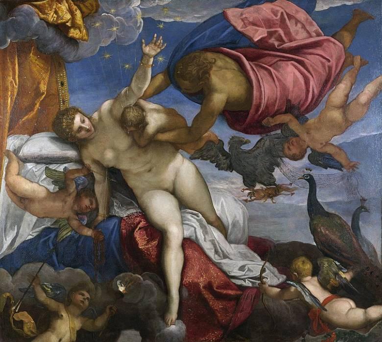 Jacopo Tintoretto: A Tejút születése (1575) • Forrás: Wikipédia