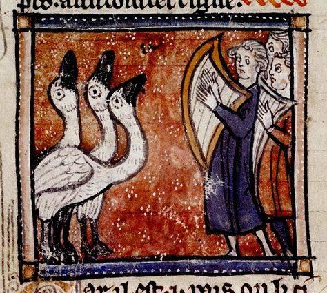 Középkori állattan-könyvek: bestiáriumok