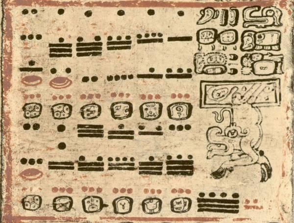 Ősi maja számjegyírás és a naptárokra vésett, ún. fejszámjegyek • Kép forrása: mayaarcheologist.com