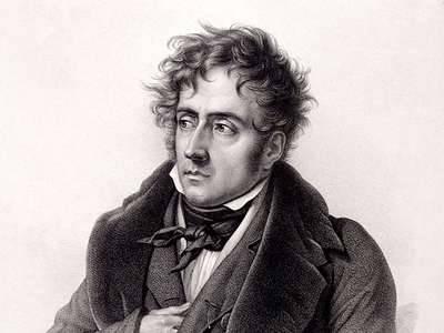 François-René de Chateaubriand (1768–1848). Kép forrása: britannica.com