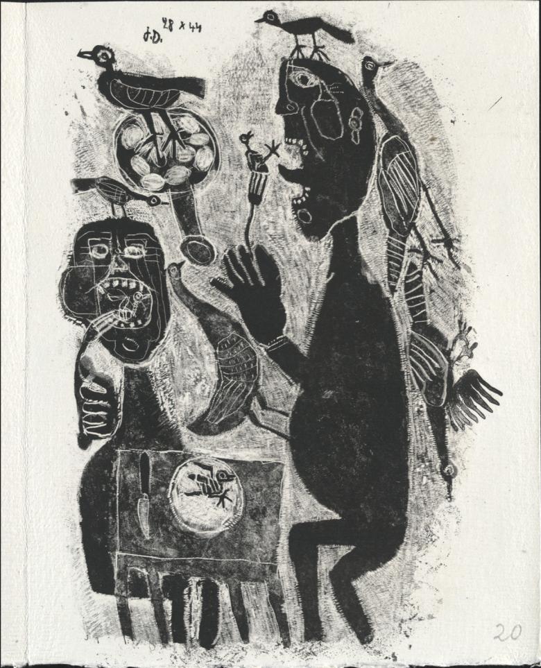 Madárevő, 1944 • Kép forrása: moma.org