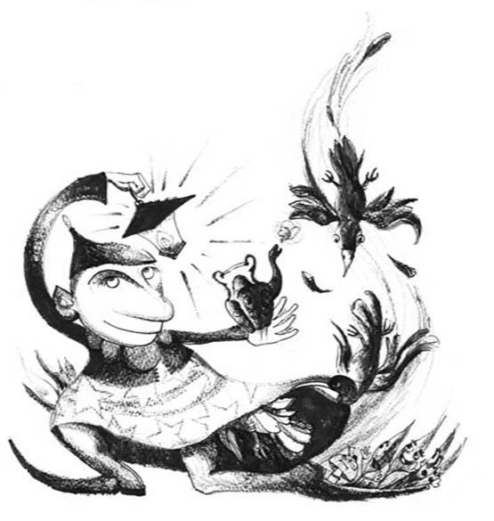 Kerti örömök 3., Csiribí, csiribá