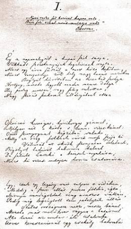 Arany versek (3.): A poéta szerszámosládájáról
