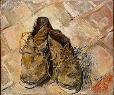 Vincent van Gogh: Parasztcipők • olajfestmény, 1886  • Forrás: www.metmuseum.org