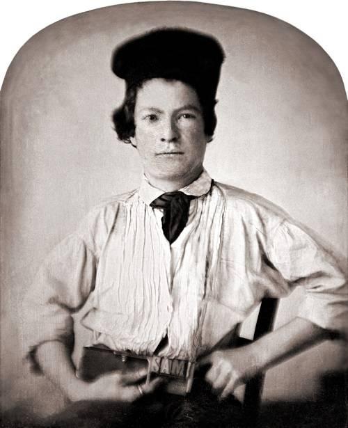 Mark Twain (Samuel Langhorne Clemens) 1850-ben, tizenöt évesen