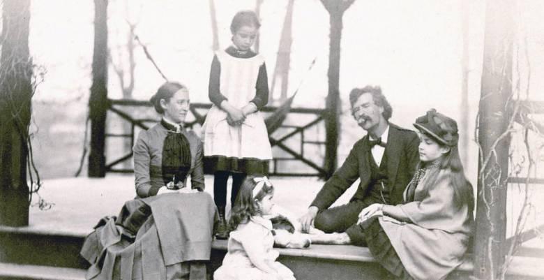 A Clemens család 1875-ben  (Hartford, Connecticut)