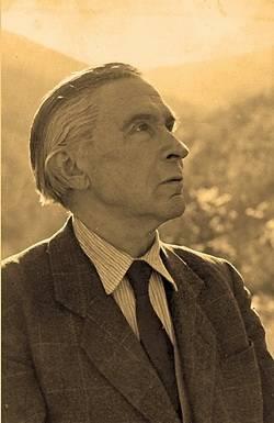 Áprily Lajos (1887–1967) elemi iskoláit Parajdon végezte, a gimnázium első osztályát Székelyudvarhelyen, ezután Kolozsváron a református gimnáziumban tanult (Kép: ecultura.hu)