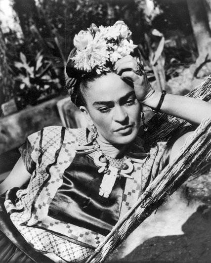 Magdaléna Carmen Frida Kahlo y Calderón, eredeti stílusú mexikói festőművész (1907. július 6.–1954. július 13., Mexico City) • forrás: nytimes.com
