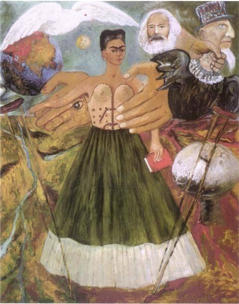 A marxizmus meggyógyítja a betegeket • 1954 • forrás: wikiart.org