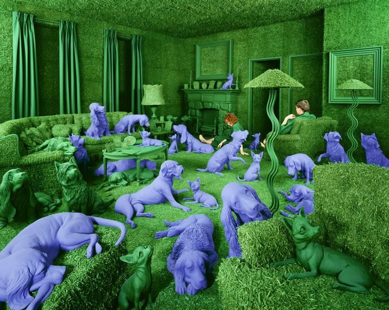Zöld ház (The Green House) • 1990 • Képek forrása: sandyskoglund.com