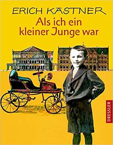 Amikor én kissrác voltam – a német kiadás borítója • forrás: amazon.de