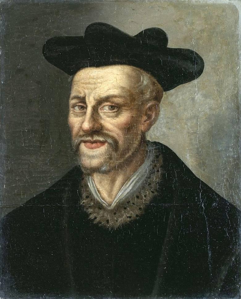 François Rabelais (1494 körül–1553), Forrás: Wikipédia