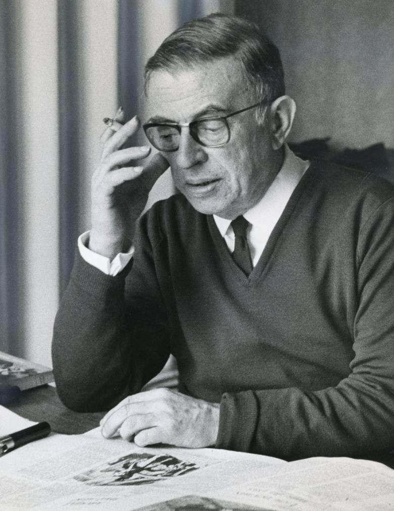 Jean Paul Sartre (1905– 1980). Forrás: britannica.com